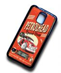 KOOLART PETROLHEAD SPEED SHOP Design For Classic Mini Cooper S Works Case Cover Fits Samsung Galaxy S5
